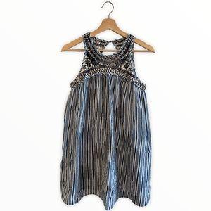 ECOTE Stripped Sleeveless Dress